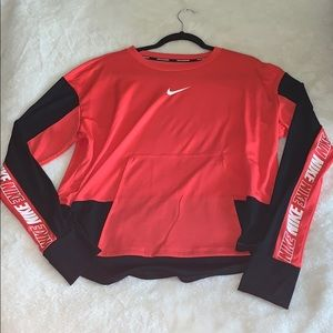Nike Running Long Sleeve Cropped Shirt